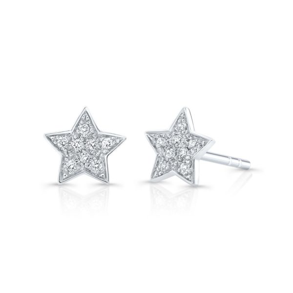 Star Studded Diamond Earring