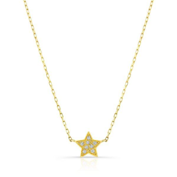 Star Studded Diamond Necklace