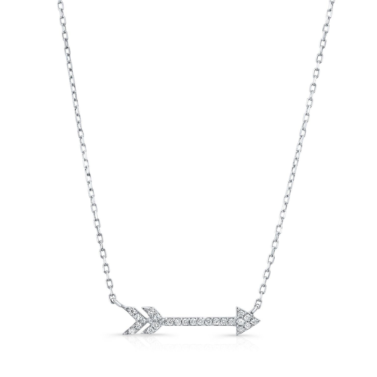 Diamond Arrow Necklace