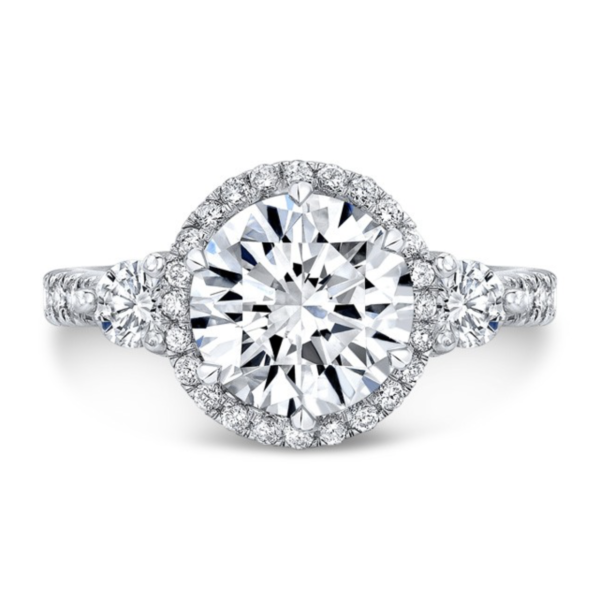 Nicole Moissanite Ring