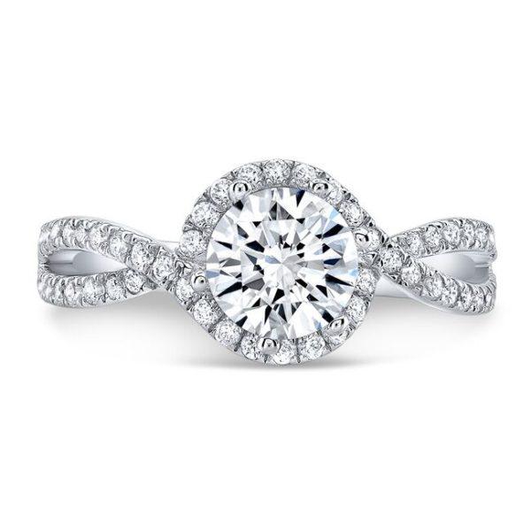 Emery Moissanite Ring
