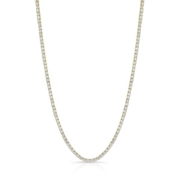 11.56ct Tennis Necklace