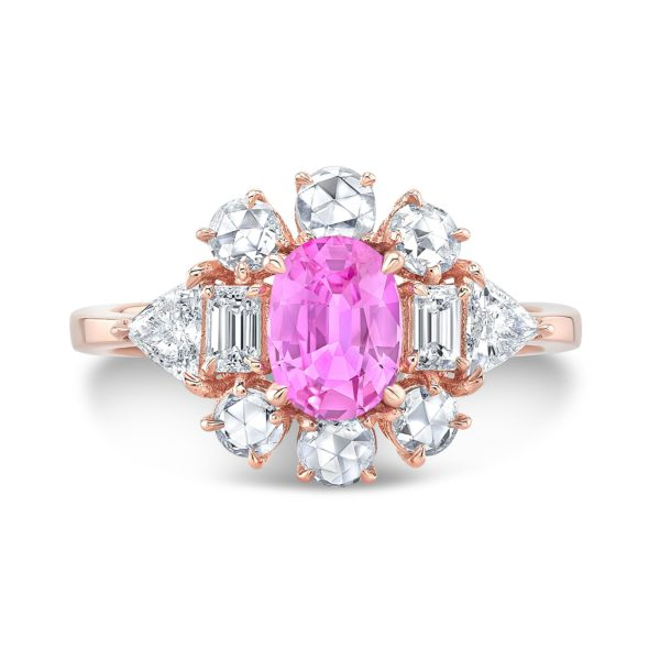Diana Pink Sapphire Ring